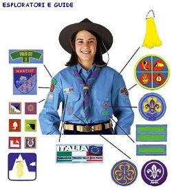 Uniforme Scout Esploratori e Guide