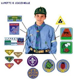 Uniforme Scout Lupetti e Coccinelle